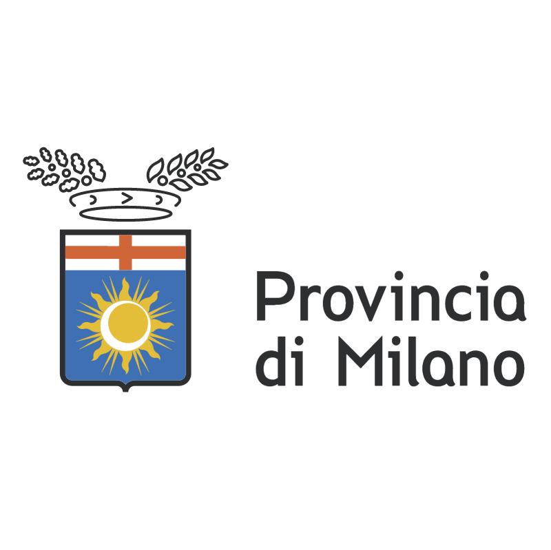 Provincia di Milano vector