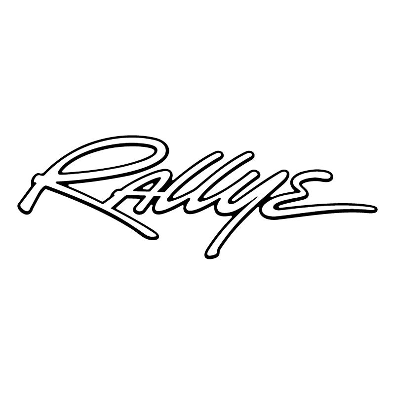 Rallye vector logo