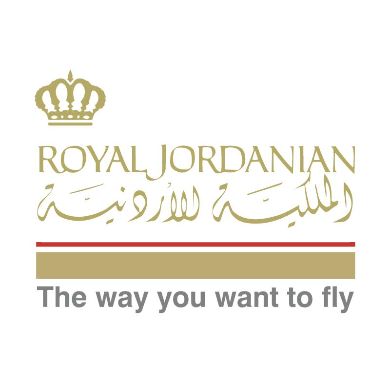 Royal Jordanian vector