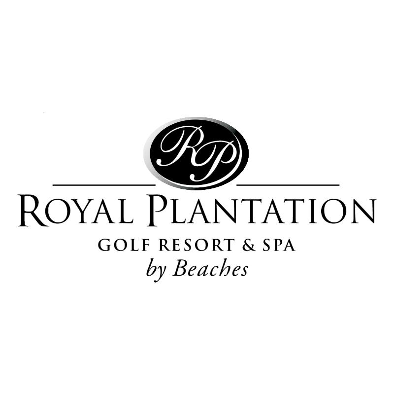 Royal Plantation vector logo
