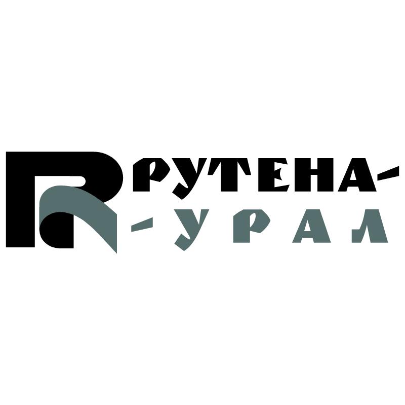 Rutena Ural vector logo