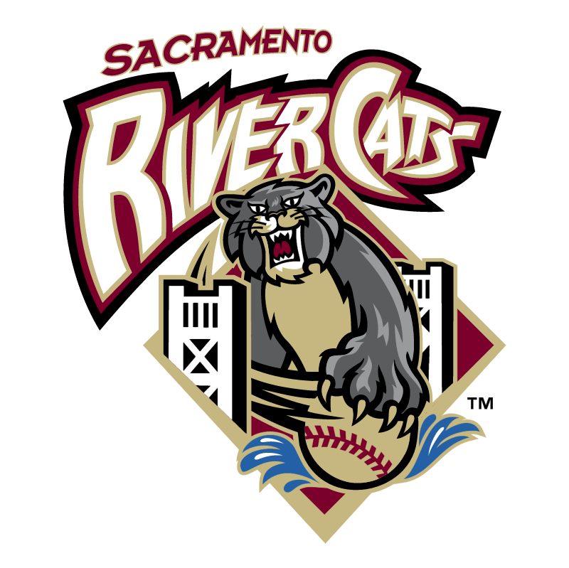 Sacramento River Cats vector logo