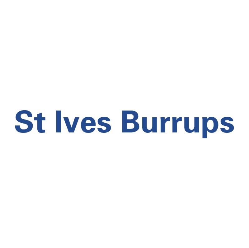 St Ives Burrups vector logo