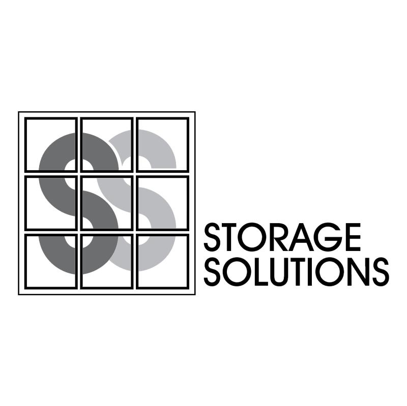 Storage Solutions vector