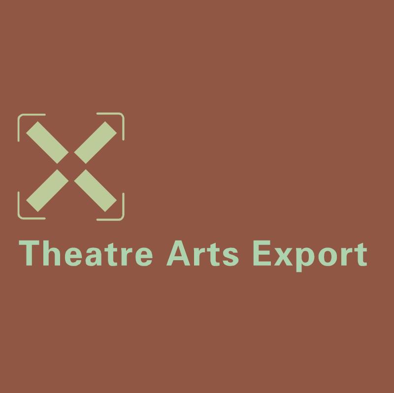 Theatre Arts Export vector