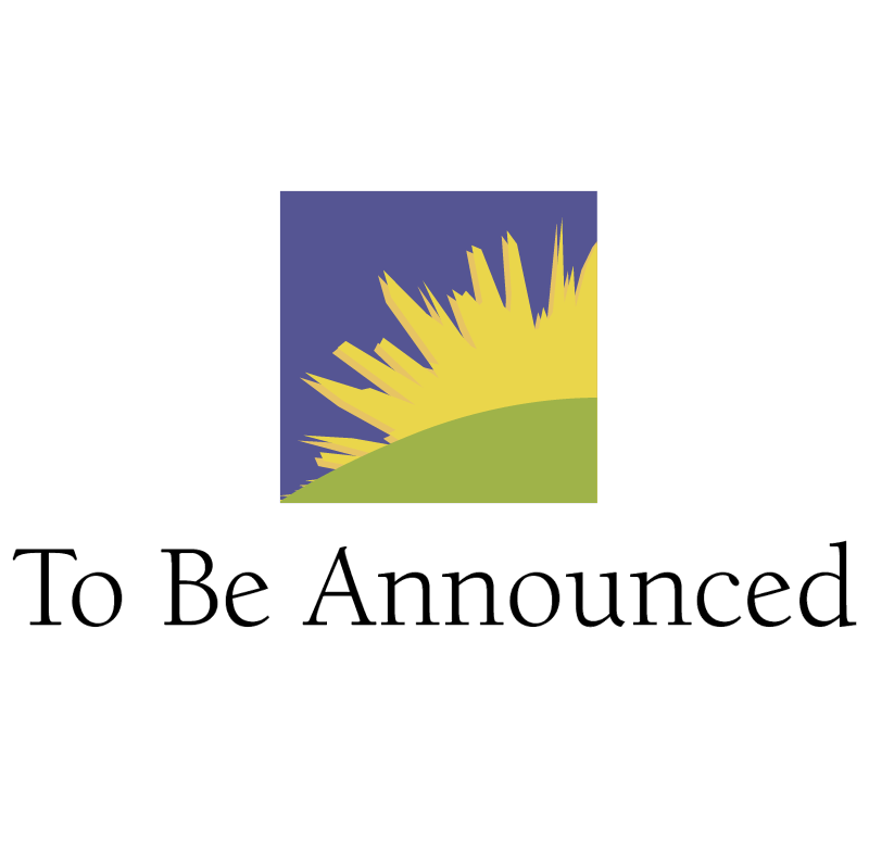 To be Announced vector