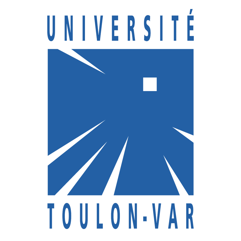 Universite Toulon Var vector
