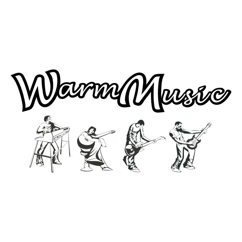 Warm Music vector