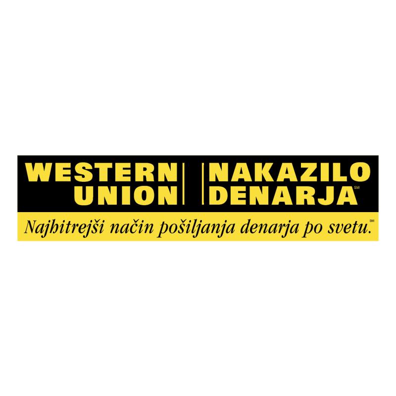 Western Union Slovenija vector