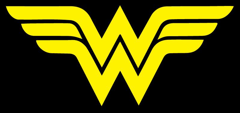 Wonder Woman vector logo