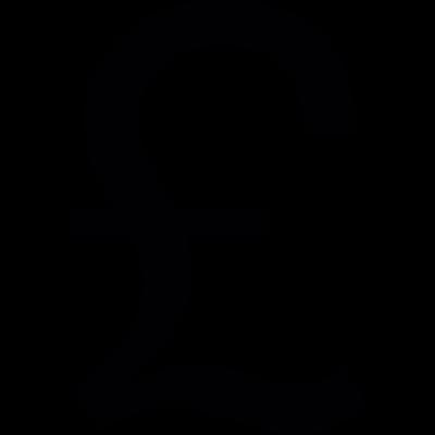 British Pound symbol vector logo