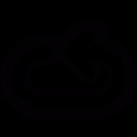 Loop arrow vector