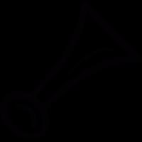 Air horn vector