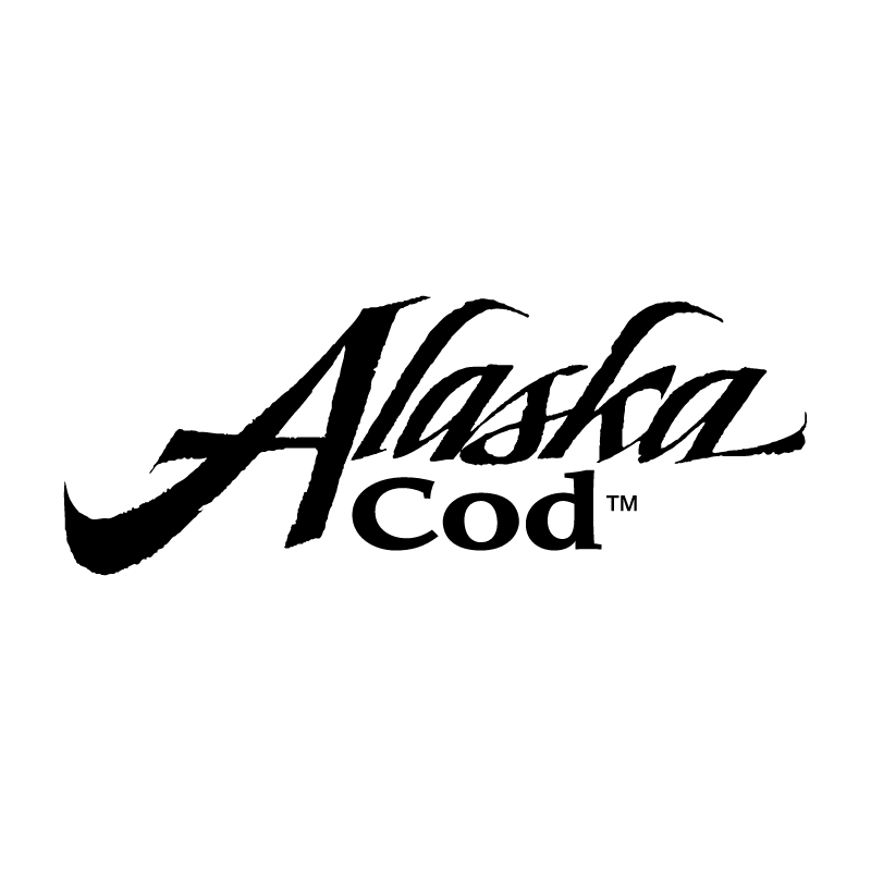 Alaska Cod 54259 vector