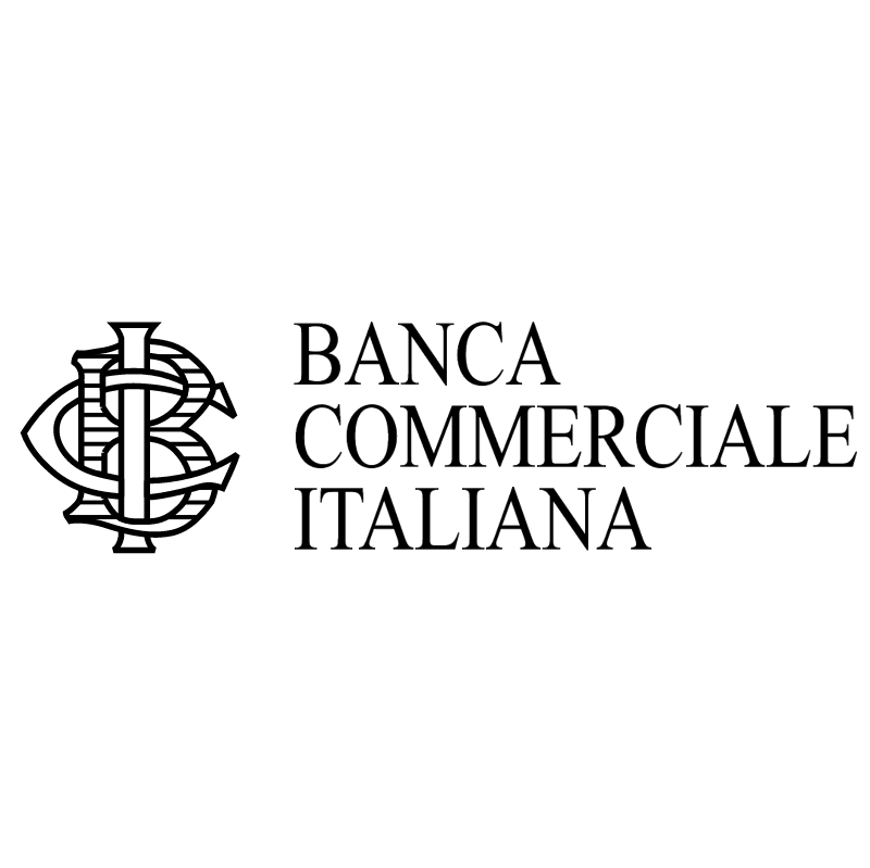 Banca Commerciale Italiana 29740 vector