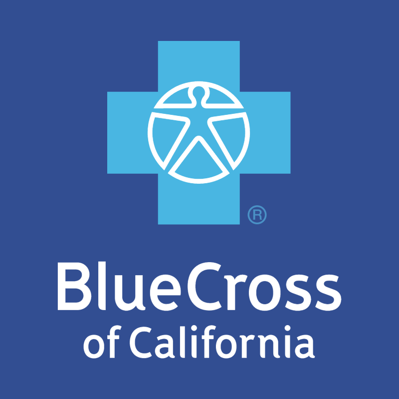 Blue Cross of California vector