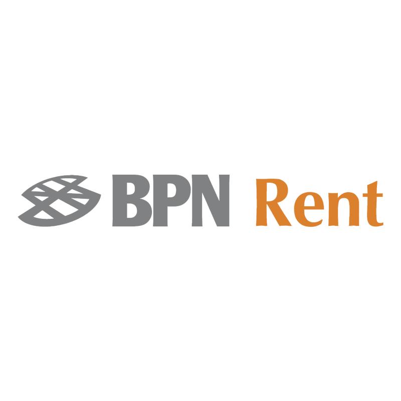 BPN Rent vector