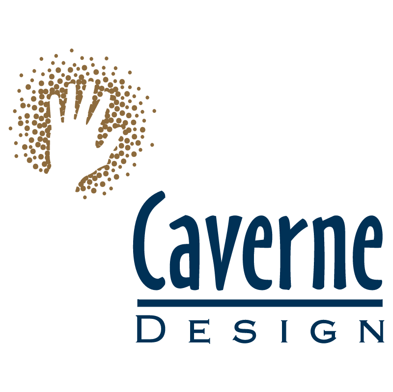 Caverne Design vector logo
