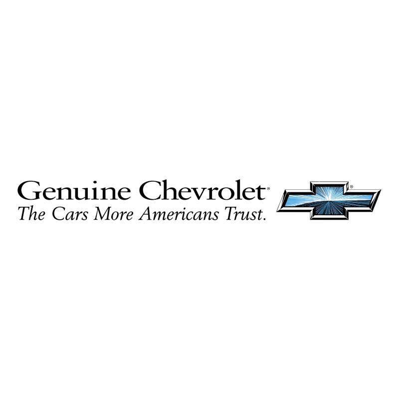 Chevrolet Genuine vector