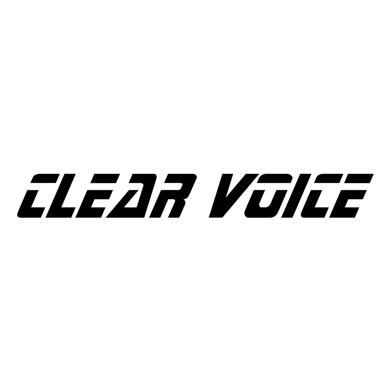 Clear Voice vector