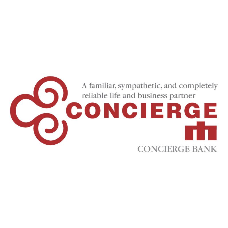 Concierge Bank vector logo