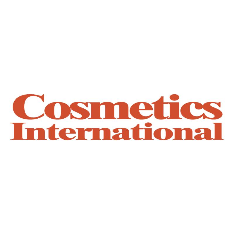 Cosmetics International vector logo