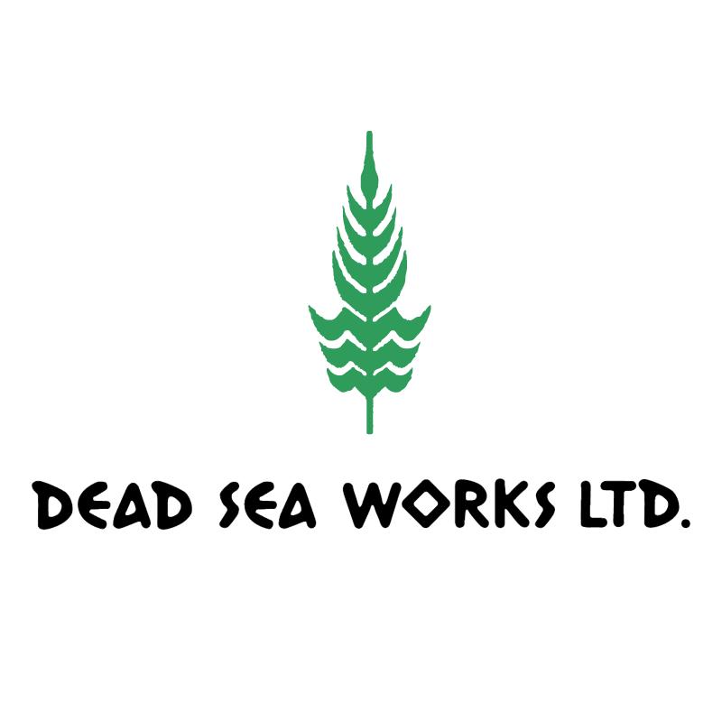 Dead Sea Works vector logo