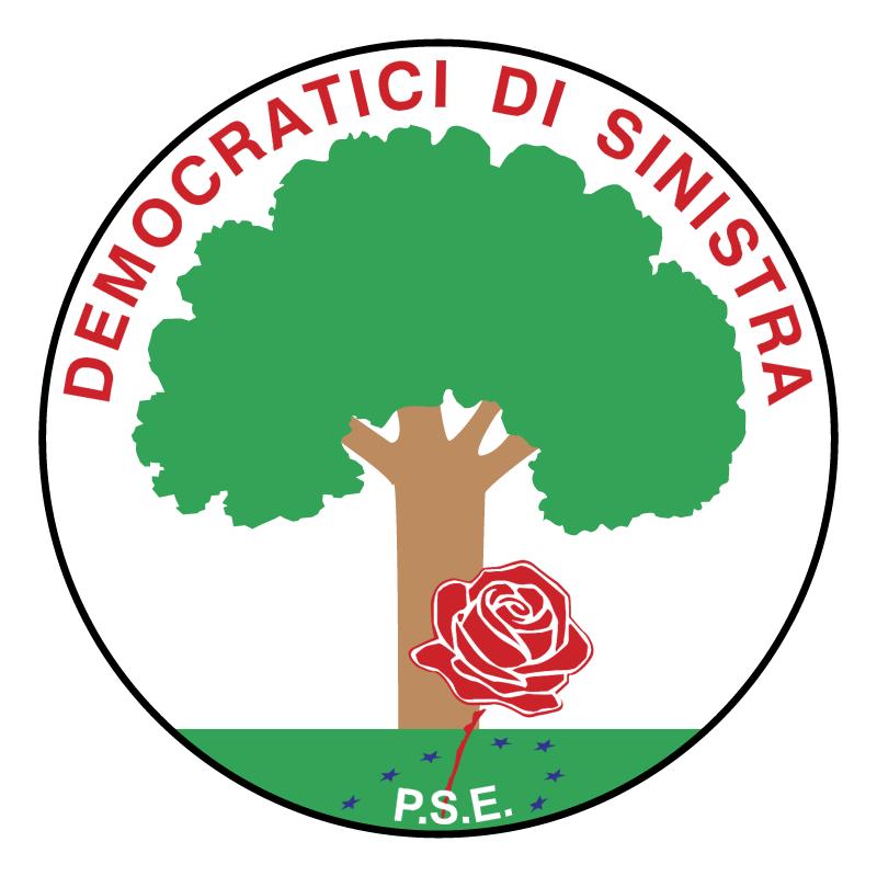 Democratici di Sinistra vector