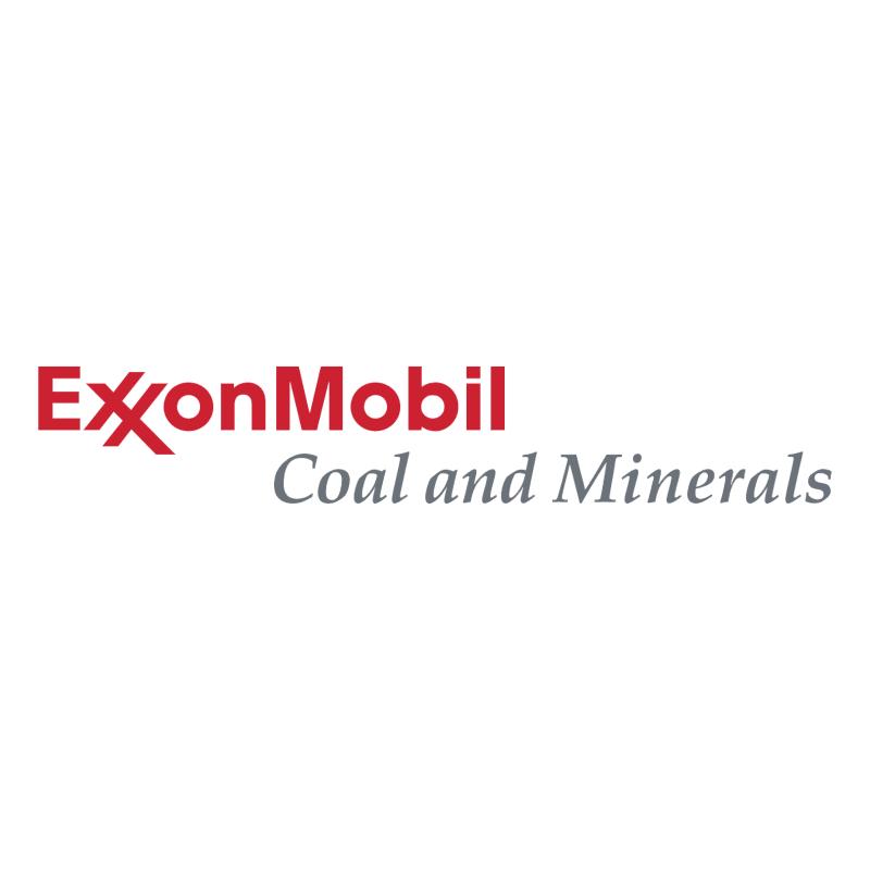 ExxonMobil Coal and Minerals vector