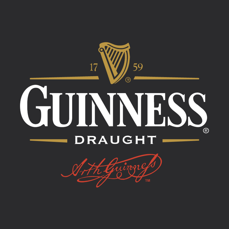 Guiness Draught vector