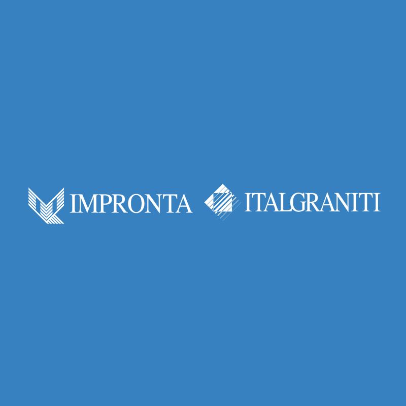 Impronta Italgraniti vector