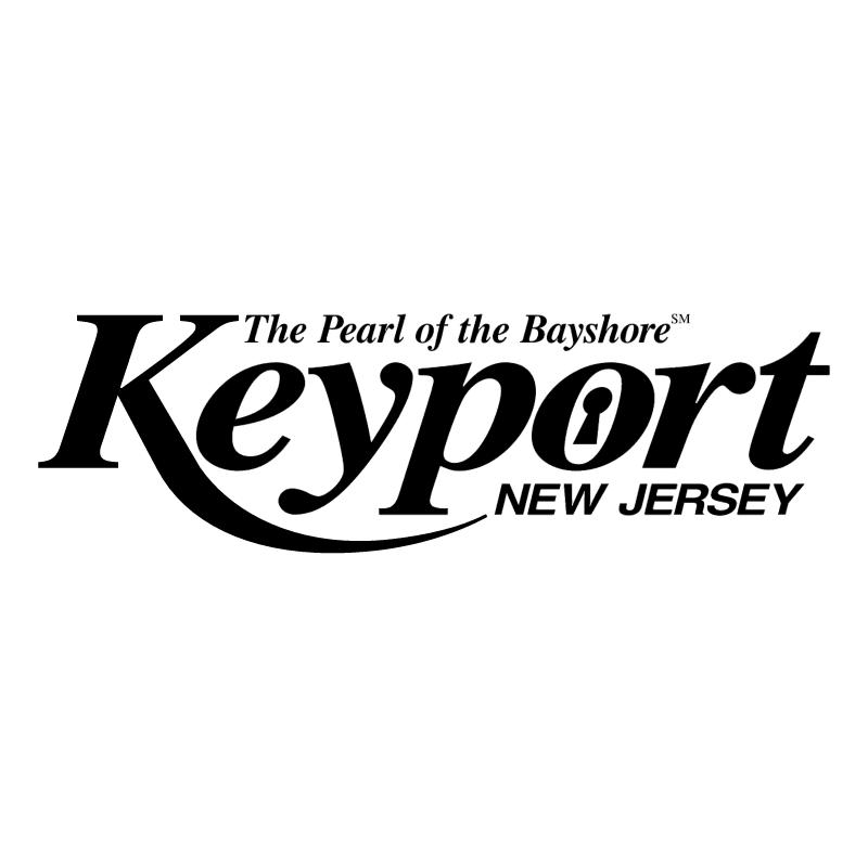 Keyport New Jersey vector