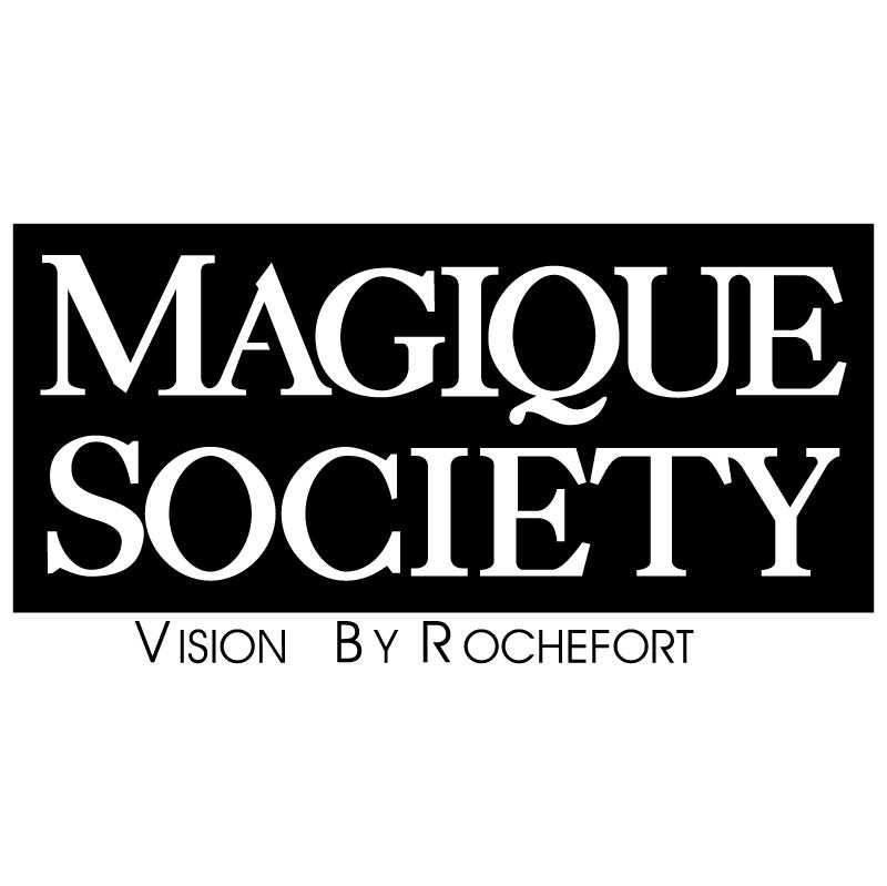 Magique Society vector