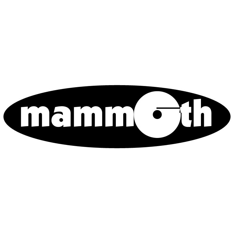 Mammoth Records vector