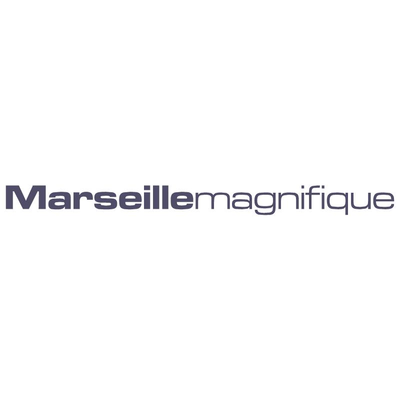 Marseille Magnifique vector