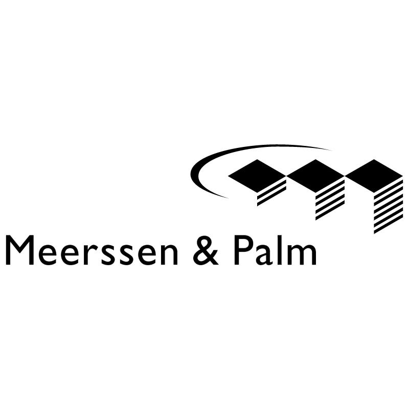 Meerssen & Palm vector
