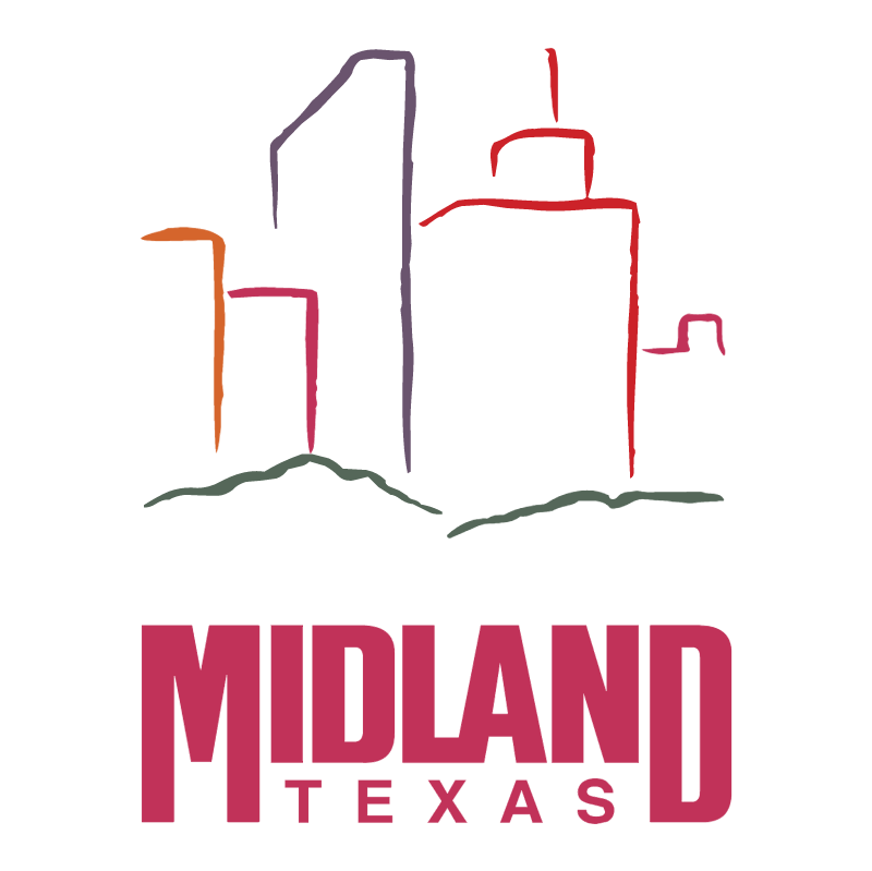 Midland Texas vector