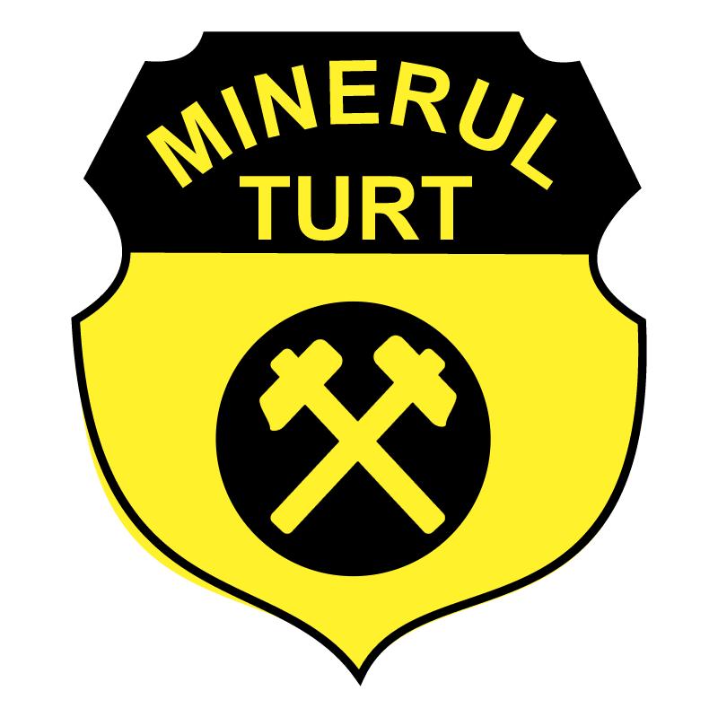 Minerul Turt vector