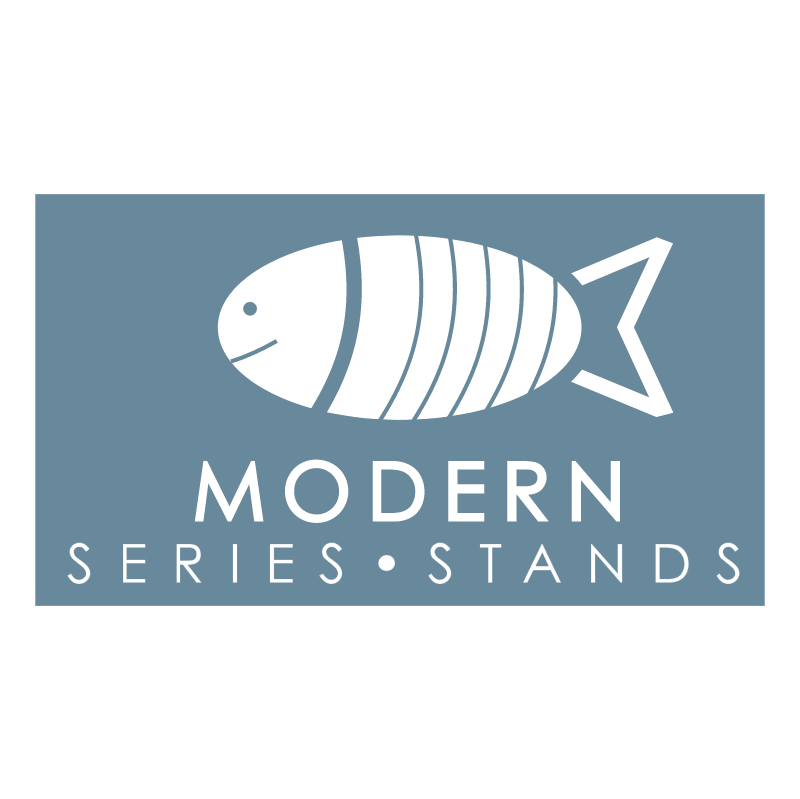 Modern Series Stands vector