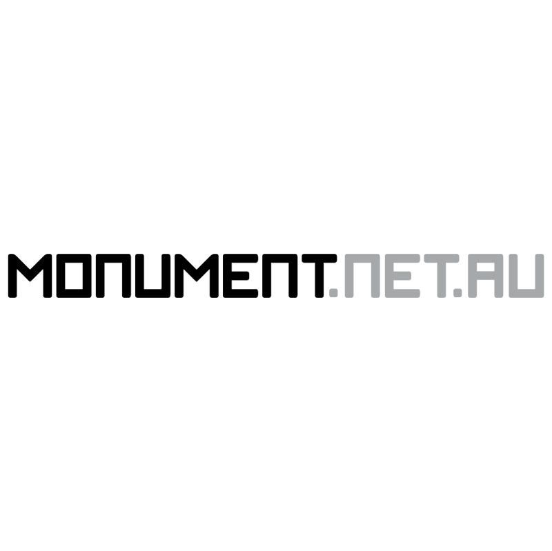 Monument net au vector
