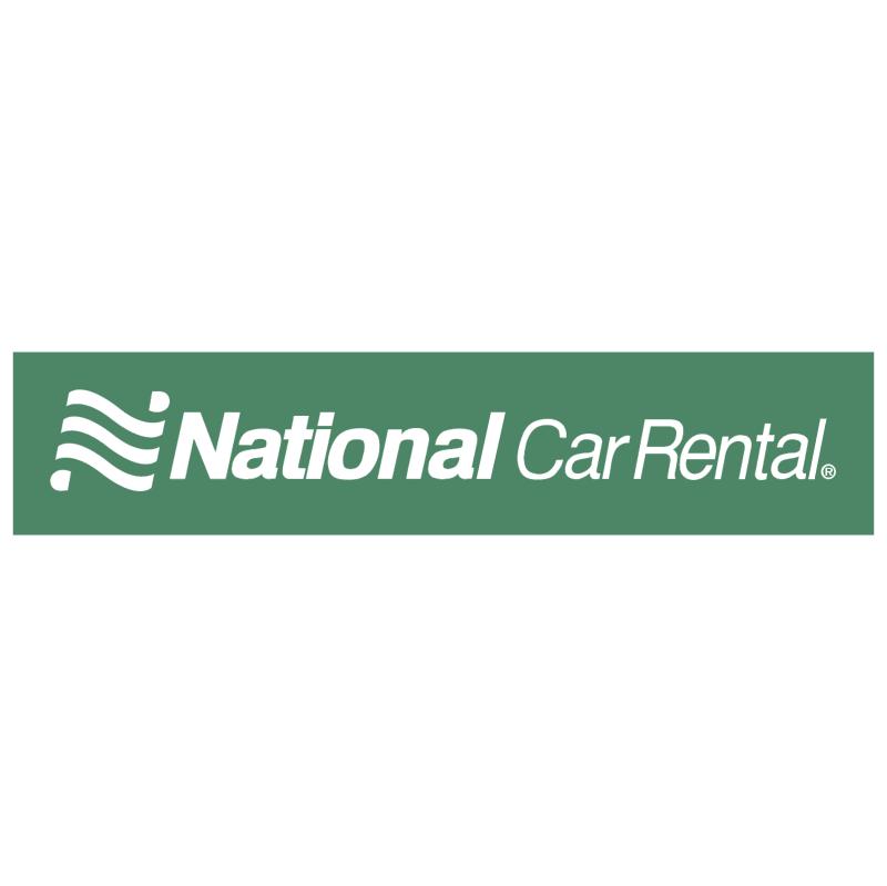 National Car Rental vector