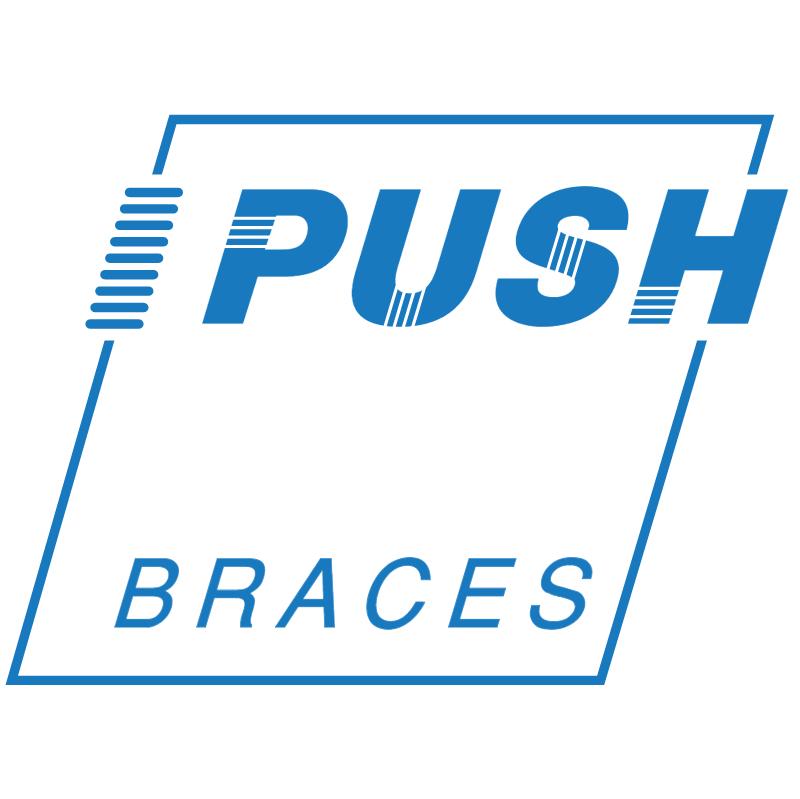 Push Braces vector