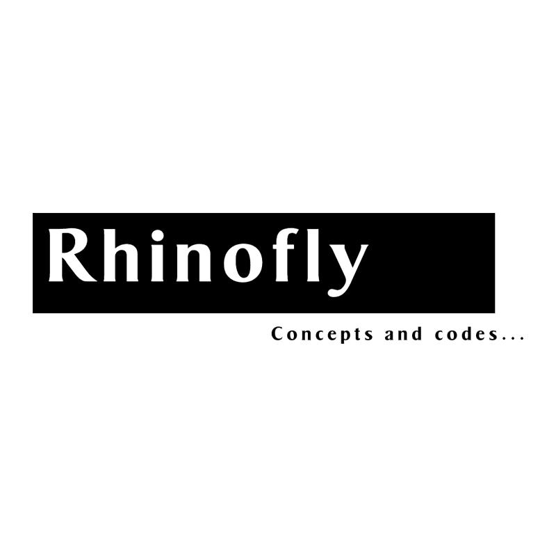 Rhinofly vector logo