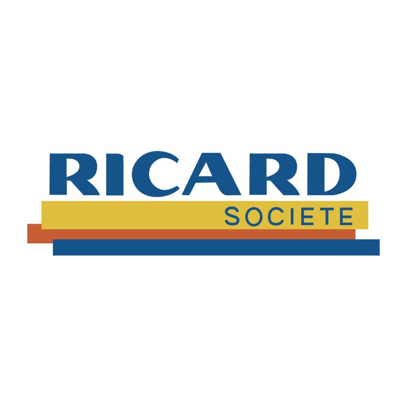 Ricard Societe vector