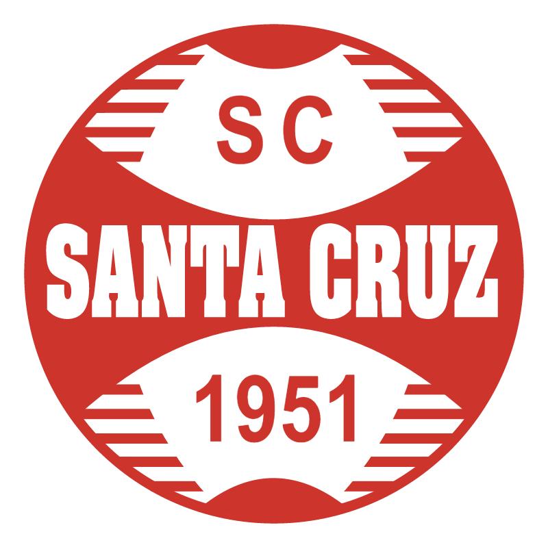 Sport Club Santa Cruz de Bom Jesus RS vector logo