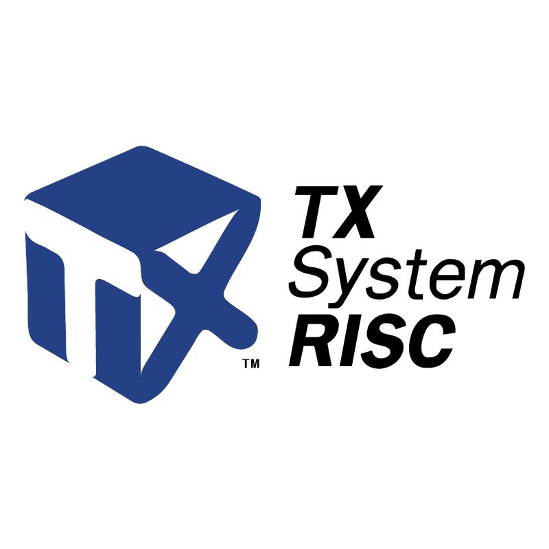 TX System RISC vector logo