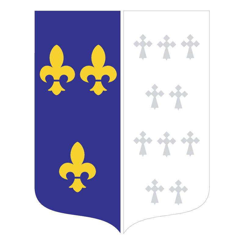 Ville Bourg La Reine vector