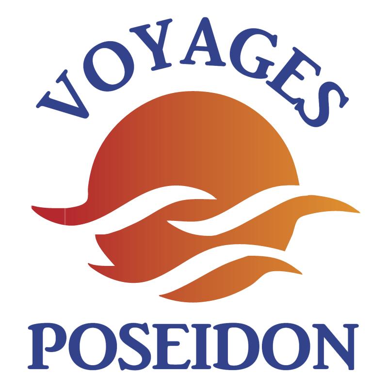 Voyages Poseidon vector