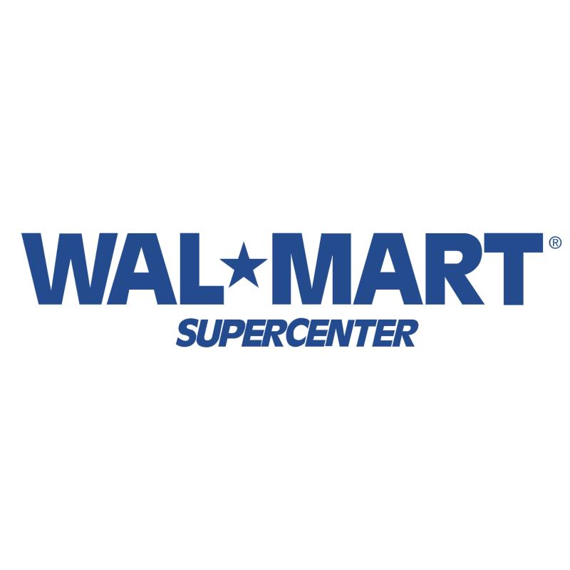 Wal Mart Supercenter vector
