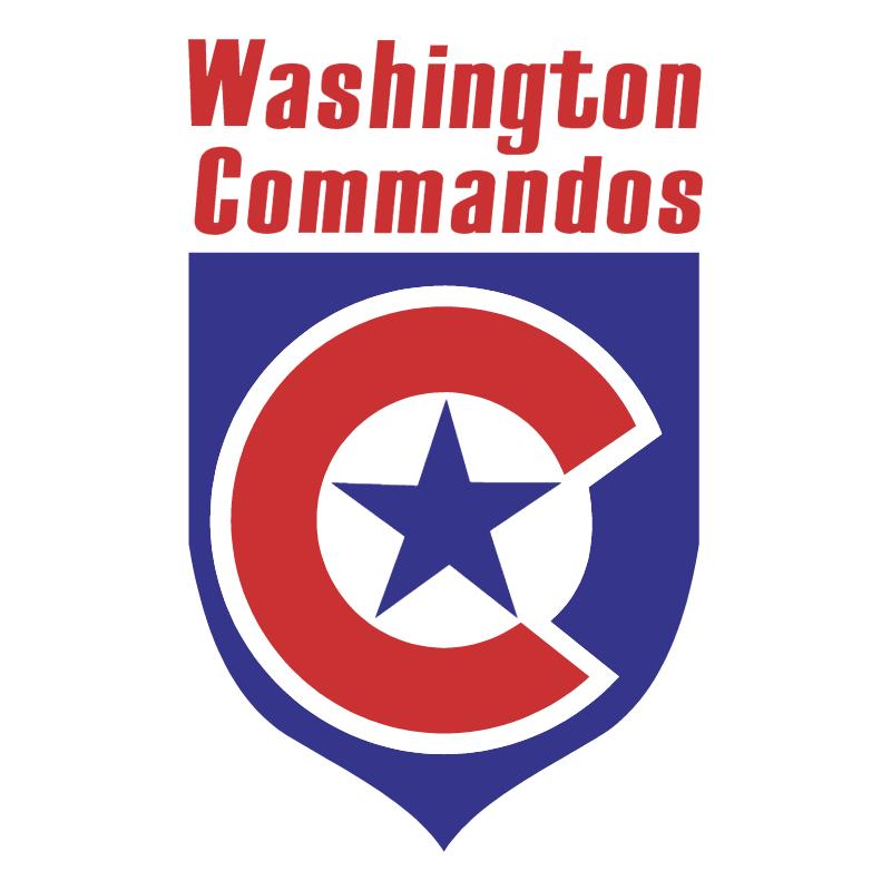 Washington Commandos vector logo